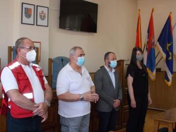 Topolya: Fogadták az önkéntes véradókat - A cikkhez tartozó kép
