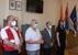 Budimir Marić, Kospenda József, Szatmári Adrián és dr. Pintér Kabai Andrea a fogadáson - miniatűr változat