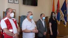Topolya: Fogadták az önkéntes véradókat - illusztráció