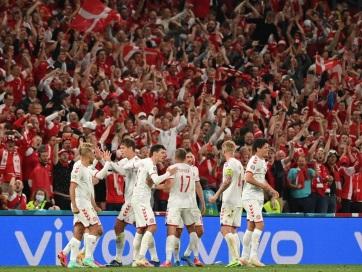 Euro 2020: A belgák mellett a dánok jutottak tovább a B csoportból - A cikkhez tartozó kép