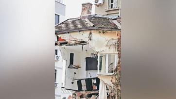 Belgrád: A lakók szeme láttára folytatódik az otthonuk omlása - A cikkhez tartozó kép
