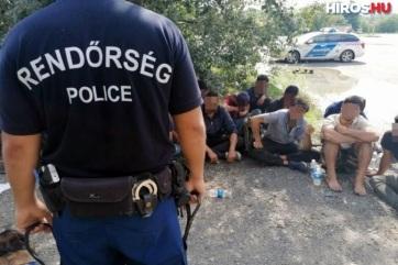 Öt embercsempészt és negyvenhárom határsértőt fogtak el Bács-Kiskun megyében - A cikkhez tartozó kép