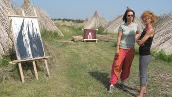 Szárnyak - rendhagyó tárlat a falu végén - illusztráció