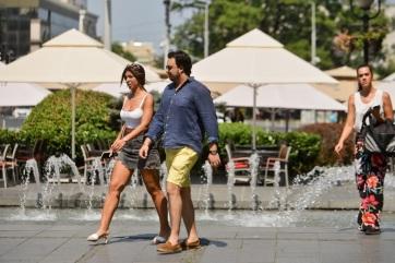 RHMZ: Trópusi hőség lesz a hónap végéig Szerbiában - A cikkhez tartozó kép