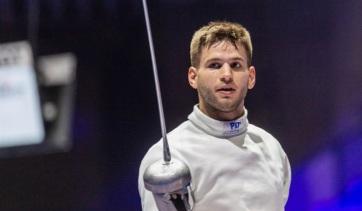 Tokió 2020: Siklósi Gergely ezüstérmes a párbajtőrdöntőben - A cikkhez tartozó kép