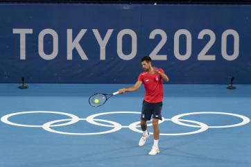Tokió 2020: Đoković bejutott a nyolcaddöntőbe - A cikkhez tartozó kép