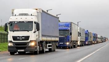 Az áruforgalmat nehezíti a lassú határátkelés - illusztráció