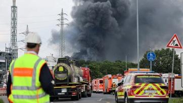 Hatalmas robbanás rázta meg Leverkusent - A cikkhez tartozó kép