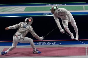 Tokió 2020: Az amerikaiakat legyőzve elődöntős a magyar férfi kardcsapat - A cikkhez tartozó kép