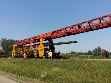 Jól halad a sínek felszedése Horgosnál - A cikkhez tartozó kép