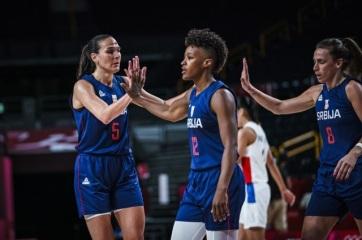 Tokió 2020: Negyeddöntős a szerb női kosárlabda válogatott - A cikkhez tartozó kép