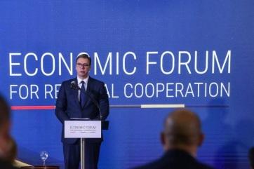 Vučić: A Nyitott Balkán projekt történelmi jelentőségű a régió számára - A cikkhez tartozó kép