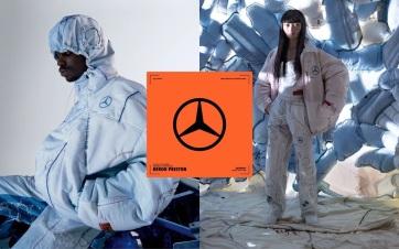 Légzsákból gyárt ruhákat a Mercedes - A cikkhez tartozó kép
