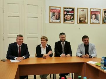 A közös politikai képviselet elengedhetetlen feltétele a szlovákiai magyarság érdekei érvényesítésének - A cikkhez tartozó kép