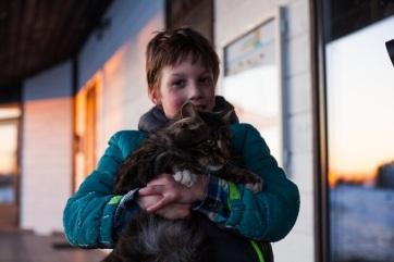 A macskák nyugodtabbá válnak egy autista gyermeket nevelő családban - A cikkhez tartozó kép
