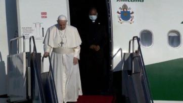 Ferenc pápa megérkezett Budapestre - A cikkhez tartozó kép