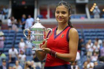 Brit tinédzser a US Open bajnoka - A cikkhez tartozó kép