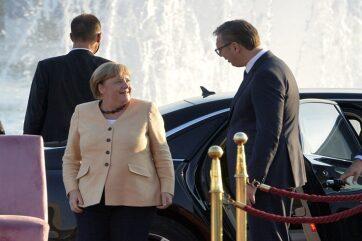Vučić: Szerbia hálás mindazért, amit a német kancellár az országért tett - A cikkhez tartozó kép