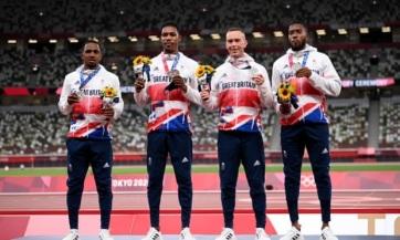 Veszélyben a brit váltó olimpiai ezüstérme - A cikkhez tartozó kép