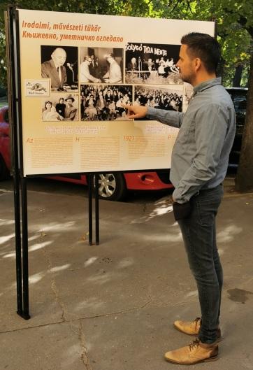 Zenta: Utcakiállítás és képregény I. Ferenc Józsefről - A cikkhez tartozó kép