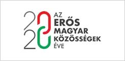 2020 - Az erős magyar közösségek éve logója