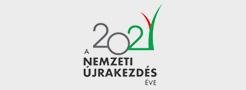 Nemzeti újrakezdés 2021 logó