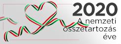 2020 - a nemzeti összetartozás éve logó