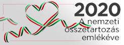2020 - a nemzeti összetartozás emlékéve logó