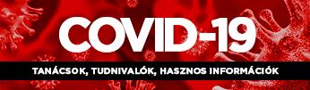 Covid 19: Tanácsok, tudnivalók, hasznos információk - fejléc