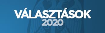 Választások 2020 - logó