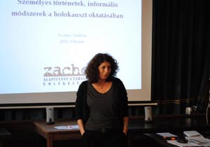 Tanártovábbképzés a holokauszt-oktatás módszertanáról