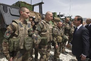 Franciaorsz�g a j�v� h�napban megkezdi katon�i kivon�s�t Afganiszt�nb�l