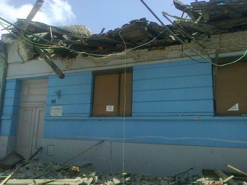 Újvidék: Beomlott a szlovák kultúrközpont épületének teteje