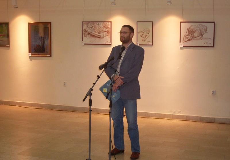 Tisza-kedvelő művészek kiállítása Zentán