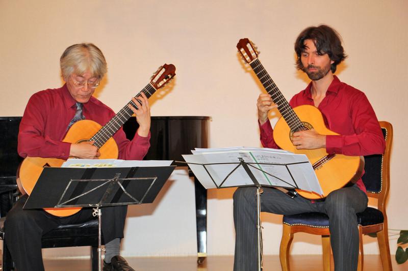 Japán és magyar gitárművészek koncerteztek Zentán
