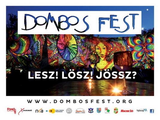 Ismert nevekkel indít az idei Dombos Fest