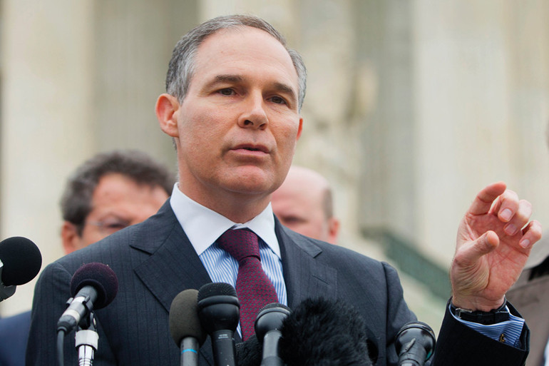 Donald Trump a fosszilis energia hívét nevezi ki a környezetvédelmi hivatal vezetőjének