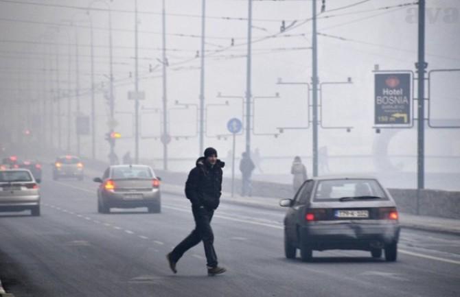 Szarajevóban a légszennyeződés miatt korlátozzák az autók közlekedését