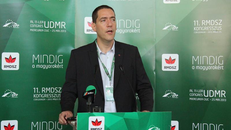 Lemondott tisztségéről Kovács Péter, az RMDSZ ügyvezető elnöke