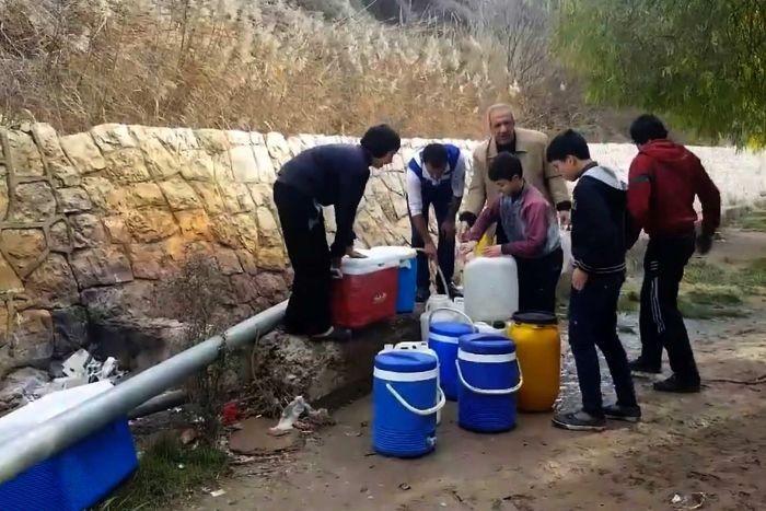 A vízhiánnyal Damaszkuszba is begyűrűzött a háború pusztító hatása