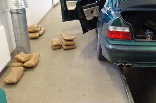 Nyolc kilogramm marihuánát találtak Röszkén