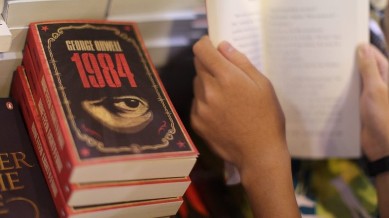 Amerikában újra bestseller lett George Orwell híres regénye, az 1984