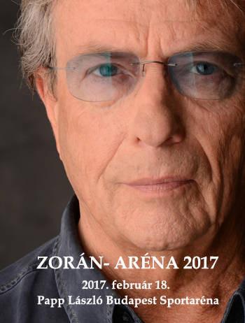 Zorán unplugged koncertet ad szombaton a budapesti Sportarénában