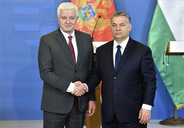Orbán: Montenegrónak az EU-ban van a helye