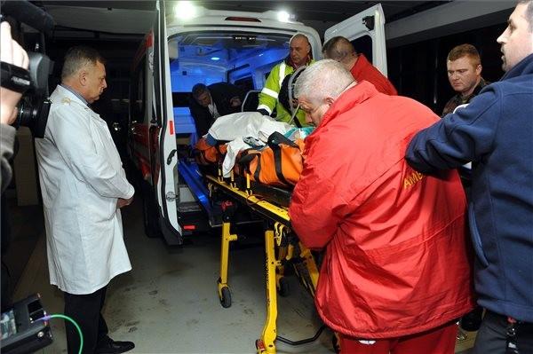 Veronai baleset: Hazahozták Veronából az utolsó súlyos sérültet