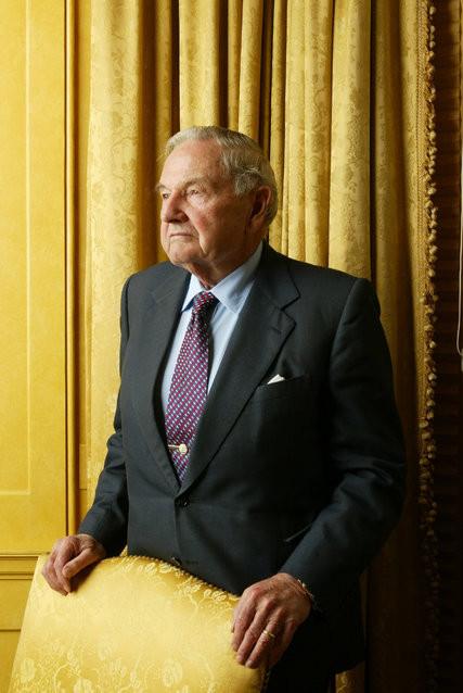 Elhunyt a milliárdos David Rockefeller, 101 éves volt