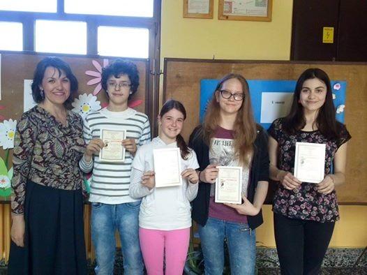 Sikeresen szerepeltek az óbecsei diákok a matematikai versenyen