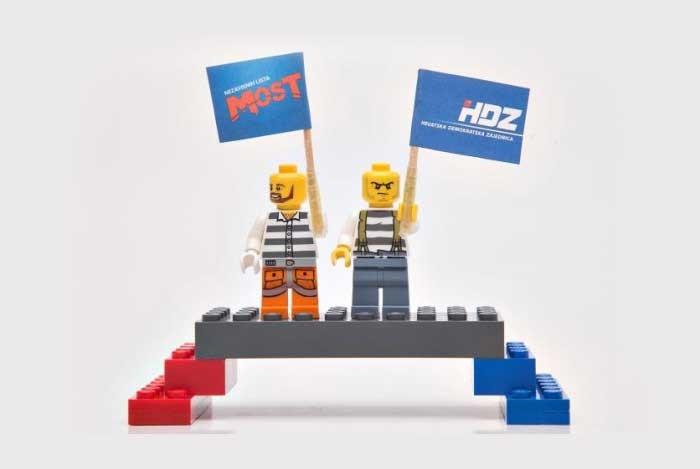 Beárnyékolja a horvát helyhatósági választásokat a HDZ és a Híd harca