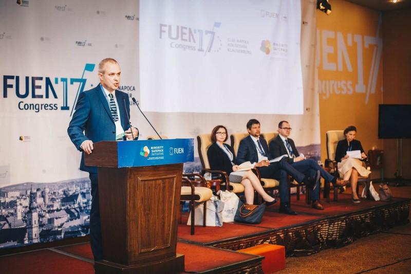 FUEN kongresszus: Nincs általános autonómiarecept, valamennyi kisebbségnek rá szabott megoldás kell