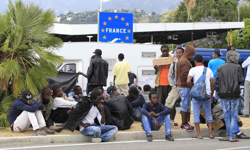 Ismét feszült a helyzet a migránsok miatt Ventimigliában az olasz-francia határon